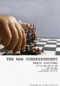 war correspondant